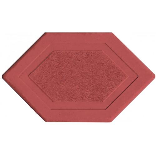 Брусчатка Мозаика 6-угольник (красная)