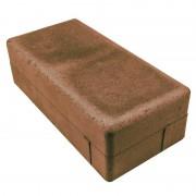 Брусчатка Питер 100х200 (коричневая)