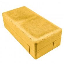 Брусчатка Питер 100х200 (желтая)