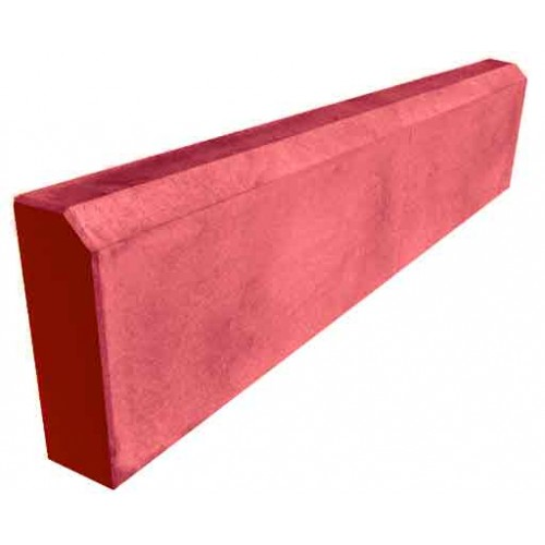 Бордюр садовый 1000 мм (красный)