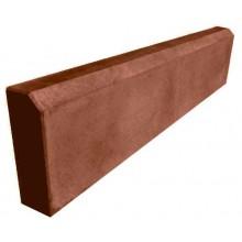Бордюр садовый 1000 мм (коричневый)