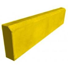 Бордюр садовый 1000 мм (желтый)