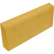 Бордюр садовый (поребрик) 70 мм (желтый)