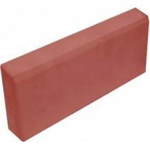 Бордюр садовый (поребрик) 70 мм (красный)