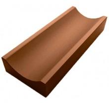 Лоток водоотводный мелкий (коричневый)