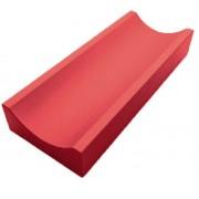 Лоток водоотводный мелкий (красный)