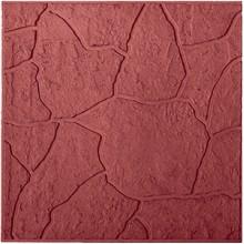 Тротуарная плитка Тучка 45 мм (красная)