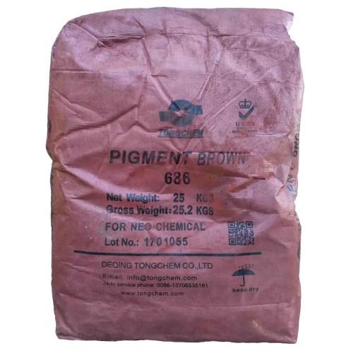 Пигмент S686 (коричневый) 25 кг